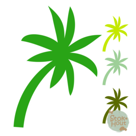 Muurfiguur: Palmboom #2 (M446)