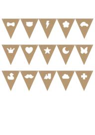 MDF vlaggetjes #2, aanvullend figuurtje