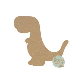 MDF figuur Dino #6 (M423)