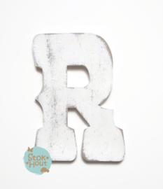 Vintaged Circus letter - 20cm/50cm - bv Wit