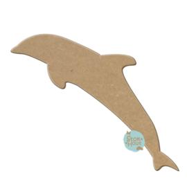 MDF figuur: Dolfijn (M167)