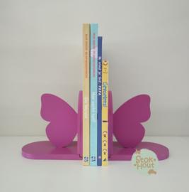 Boekensteun Vlinder (ST205) Bijv. Paars