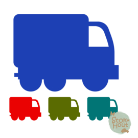 Muurfiguur: Vrachtauto (M110)