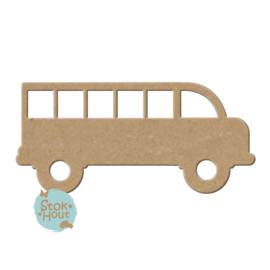 MDF figuur: Werkvoertuig bus (M362)