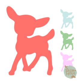 Muurfiguur: Bambi #1 (M034)