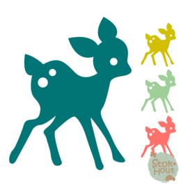 Muurfiguur: Bambi #2 (M036)