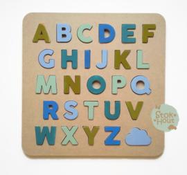 Alfabetpuzzel: kleur 'Zee' (ST209)