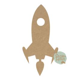 MDF figuur Raket #2 (M251)