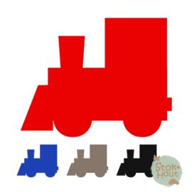 Muurfiguur: Locomotief (M079)