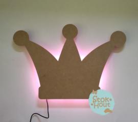 Muurlamp Kroon (bijvoorbeeld blanco)