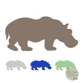 Muurfiguur: Nijlpaard (M429)