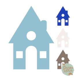 Muurfiguur: Huisje #3 (M451)