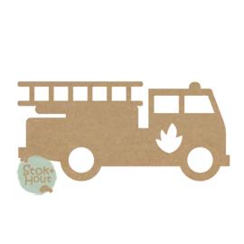 MDF figuur: Brandweerwagen #1 (M470)