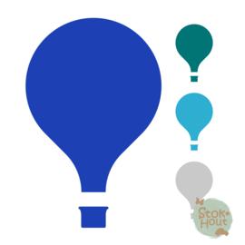 Muurfiguur: Luchtballon #2 (M442)