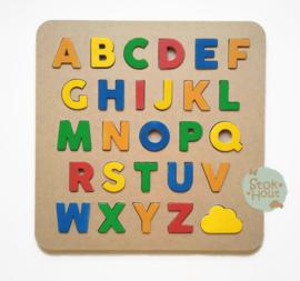 Alfabetpuzzel: kleur 'Vrolijk' (ST210)