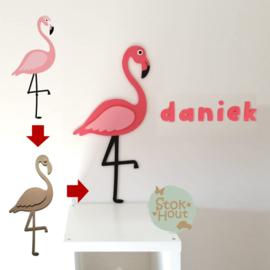 Maatwerk: Flamingo - 75cm