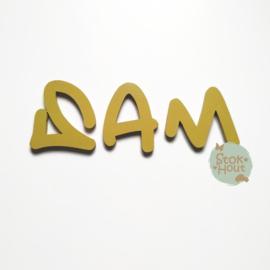 Gekleurde Letters - Lettertype 'Graffiti'