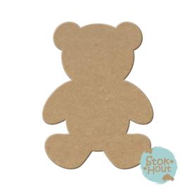 gekleurd figuur: Teddybeer (M335)