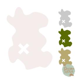 Muurfiguur: Schatkaart (M015)