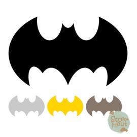 Muurfiguur: Batman logo (M139)