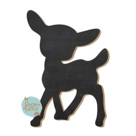 Krijtbord: Bambi #1 (M034) 20-50-75cm