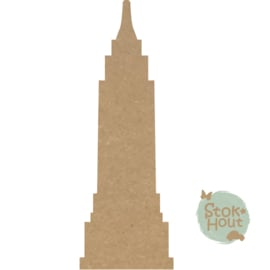 MDF figuur: Empire state building (M440)