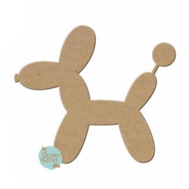 MDF figuur: Balloon Dog (M143)