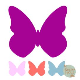 Muurfiguur: Vlinder #1 (M082)