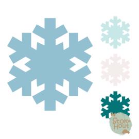 Muurfiguur: Sneeuwvlok #2 (M042)