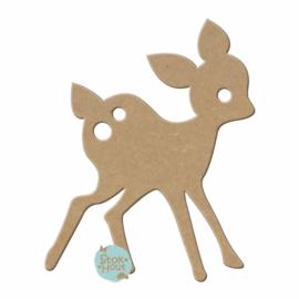 MDF figuur: Bambi #2 (M036)