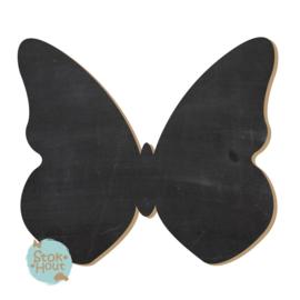 Krijtbord: Vlinder #1 (M082) 20-50-75cm