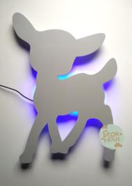 Muurlamp Bambi (bijvoorbeeld licht grijs)
