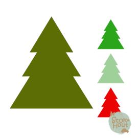 Muurfiguur: Kerstboom #1 (M043)