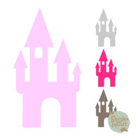 Muurfiguur: Sprookjeskasteel (M039)