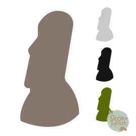 Muurfiguur: Paaseiland beeld (M445)