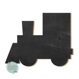 Krijtbord: Locomotief (M079) 20-50-75cm