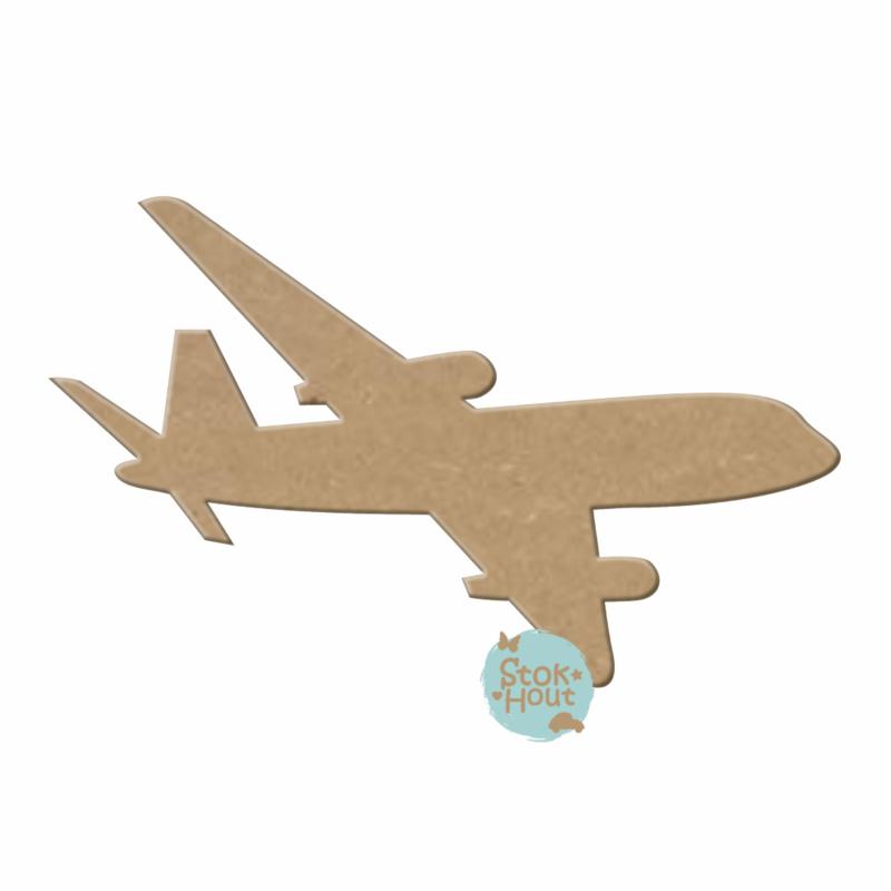 MDF figuur: Vliegtuig #2 (M118)