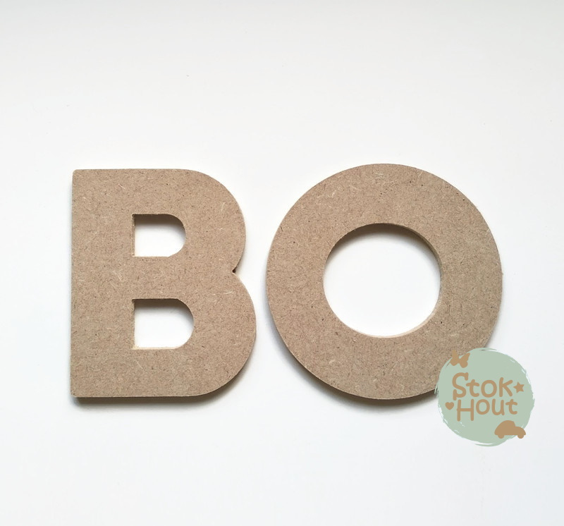 MDF Letters - Lettertype 'Basic'