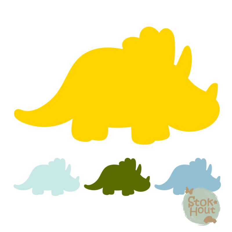 Muurfiguur: Dino #4 (M421)