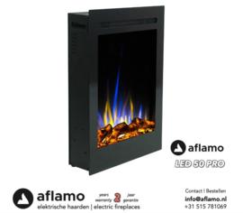 Aflamo LED50 PRO- Elektrische inbouwhaard