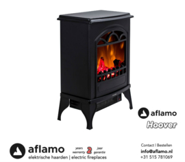 Aflamo Hoover - Freestanding electric fireplace