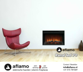 Aflamo Ranal - Electric insert firebox