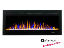 Aflamo Majestic 128cm - Wall Hanging Electric Fireplace