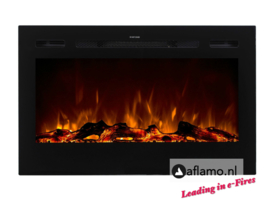 Aflamo Majestic 114cm - Wall Hanging Electric Fireplace