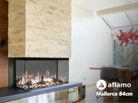 Aflamo Mallorca 84cm - Built-in Electric Fireplace