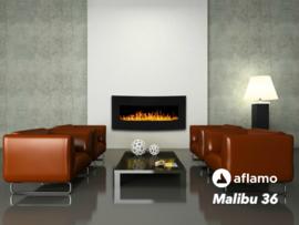 Aflamo Malibu 36 - Elektrische wandhaard