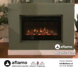 Aflamo Majestic 66 - Elektrische wandhaard