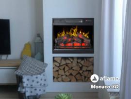 Aflamo Monaco 3D - Elektrische inzethaard