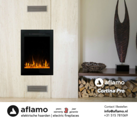 Aflamo Cortina Pro - Electric insert firebox