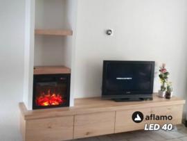 Aflamo LED40 - Elektrische inbouwhaard